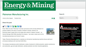 Energy & Mining Article